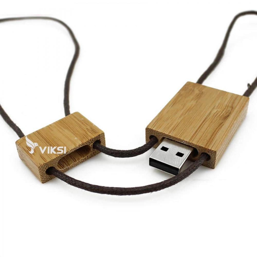 Флешка деревянная Creo
