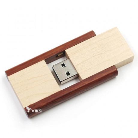 Флешка деревянная Flippy