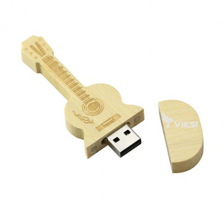 Флешка деревянная Guitar