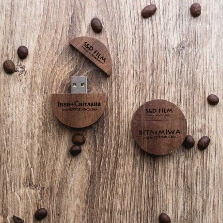 Флешка деревянная Woodsy
