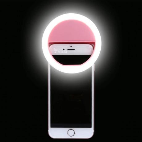 Селфи кольцо, LED подсветка для телефона