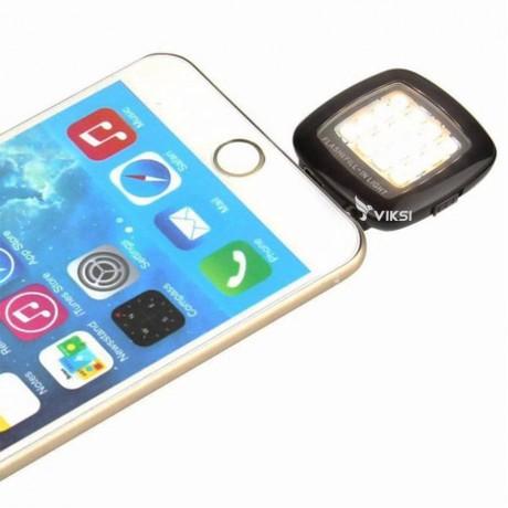 Подсветка для селфи, LED фонарь для телефона, смартфона, планшета (лампа светодиодная)