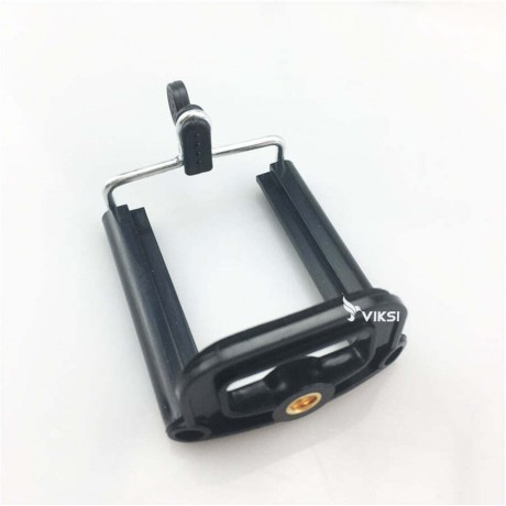 Стальной штатив для телефона или GoPro (черный)