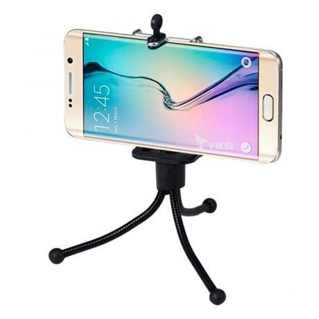 Гибкий мини-штатив для смартфона или камеры GoPro