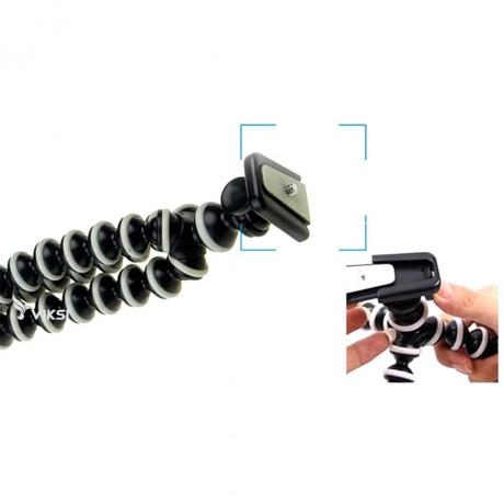 Гибкий штатив для телефона или фотоаппарата (до 1 кг)