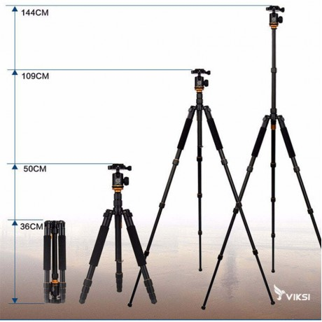 Профессиональный штатив Beike q999s для фото и видеосъемки