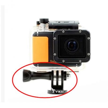Крепление на резьбу, адаптер, переходник на штатив GoPro + винт