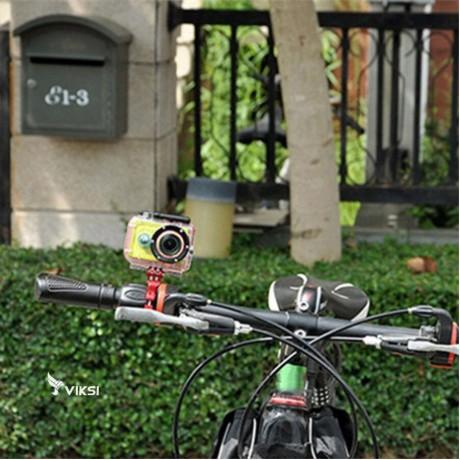 Стальное крепление на трубу велосипеда для GoPro