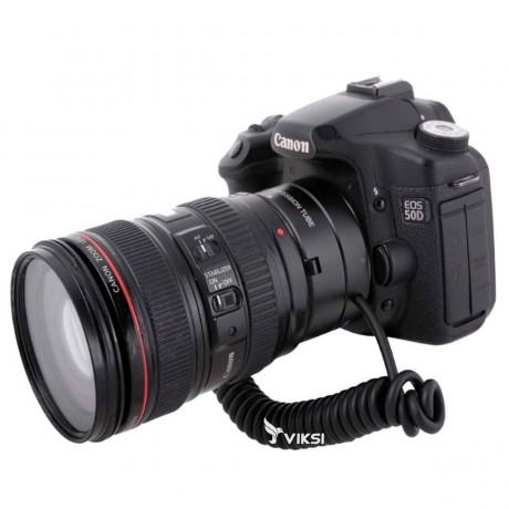 Автофокусный макро-адаптер Meike для Canon