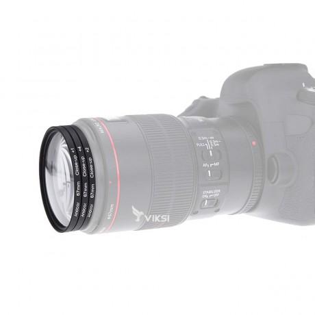 Набор макролинз 58 мм Close-up для макросъемки
