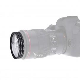 Набор макролинз 58 мм Close-up для макросъемки (3 шт)
