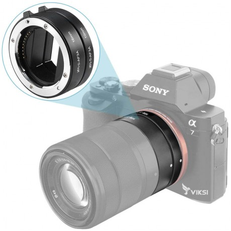 Кольца автофокусные для макросъемки для Sony NEX, e-Mount