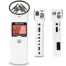 Накамерный микрофон, рекордер, диктофон ZOOM H1 (White)