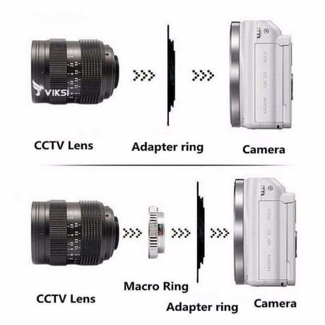 Адаптер переходник C-M43, кольцо