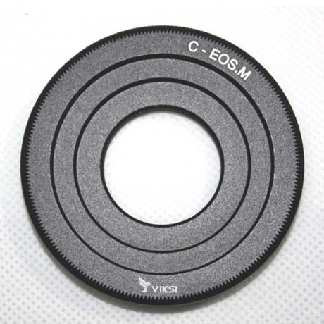 Переходник (адаптер) C-mount на Canon EOS