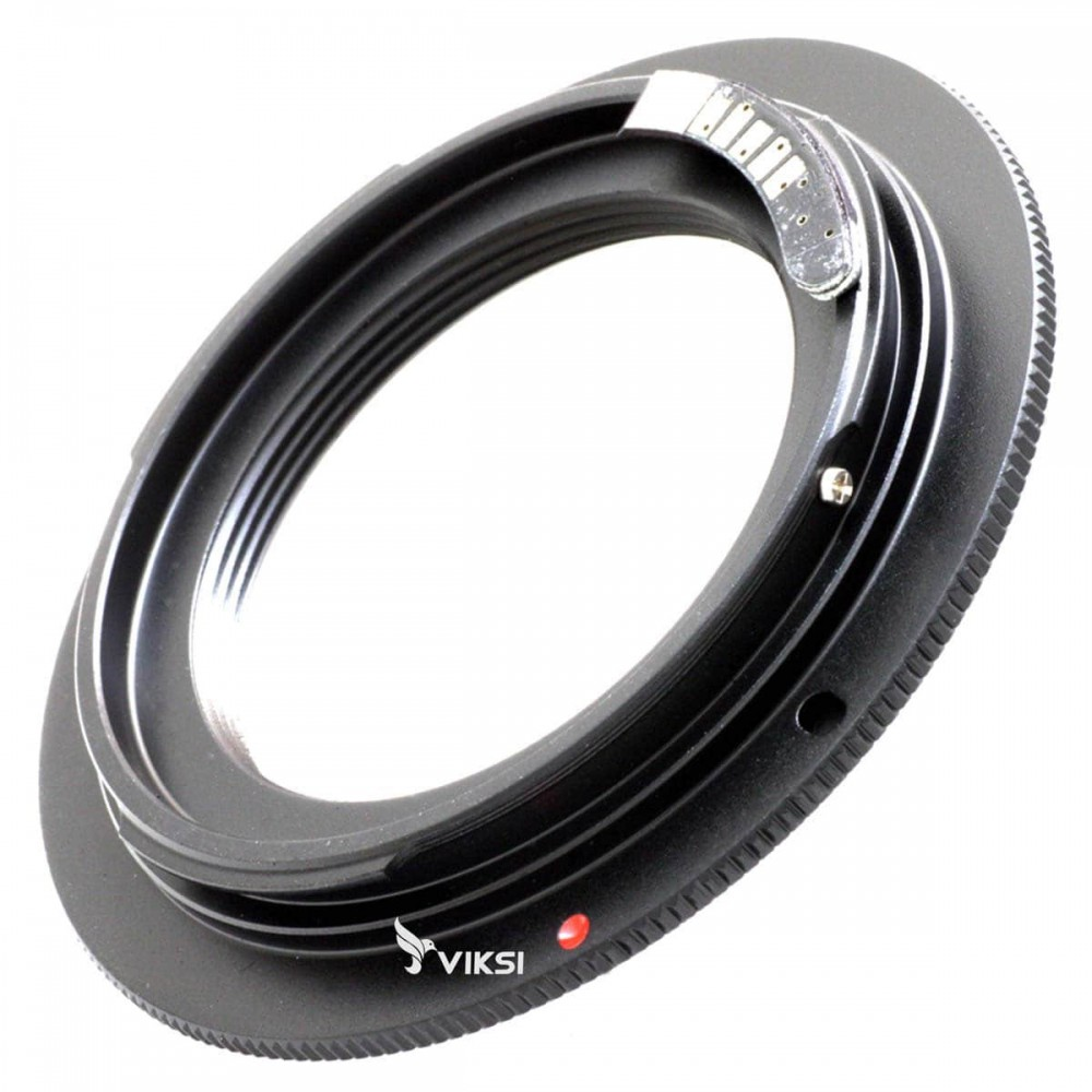 Переходник (адаптер) L39 M39 на Canon EOS, AF чип