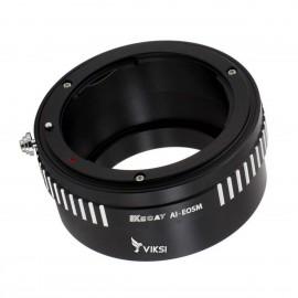 Переходник (адаптер) Nikon AI на Canon EF-M