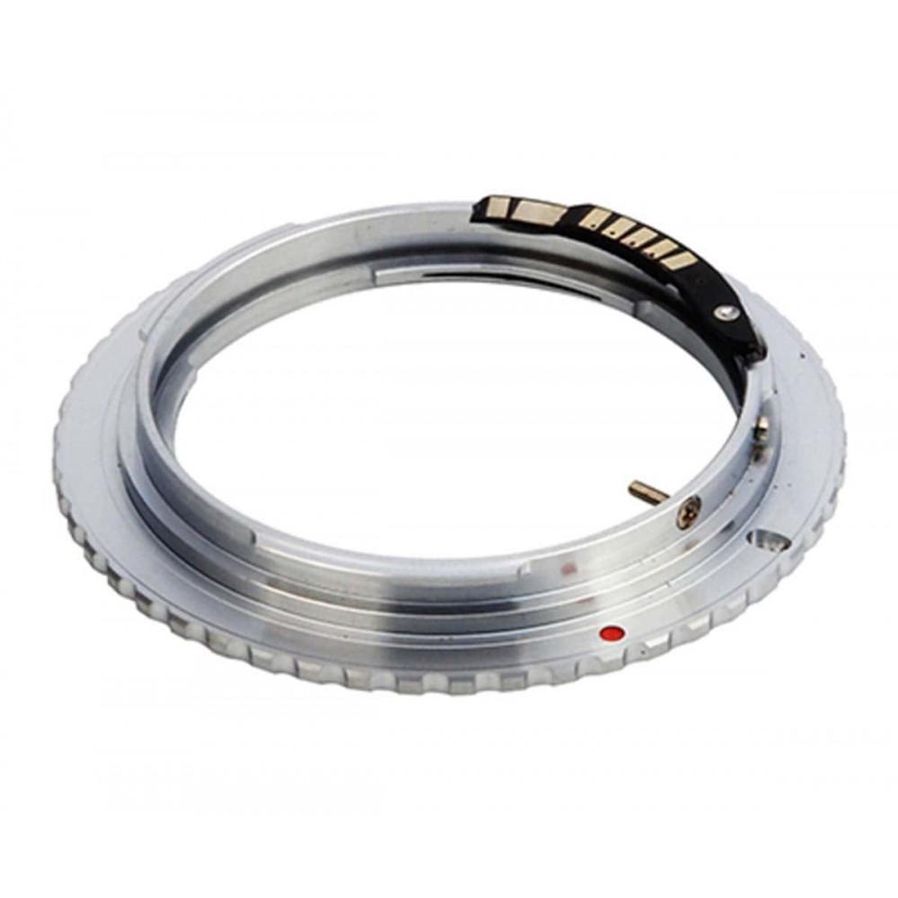 Переходник (адаптер) Olympus OM — Canon EOS, AF чип Ulata