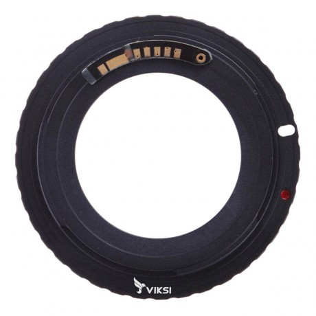 Адаптер переходник M42 — Canon EOS, AF чип Ulata черный
