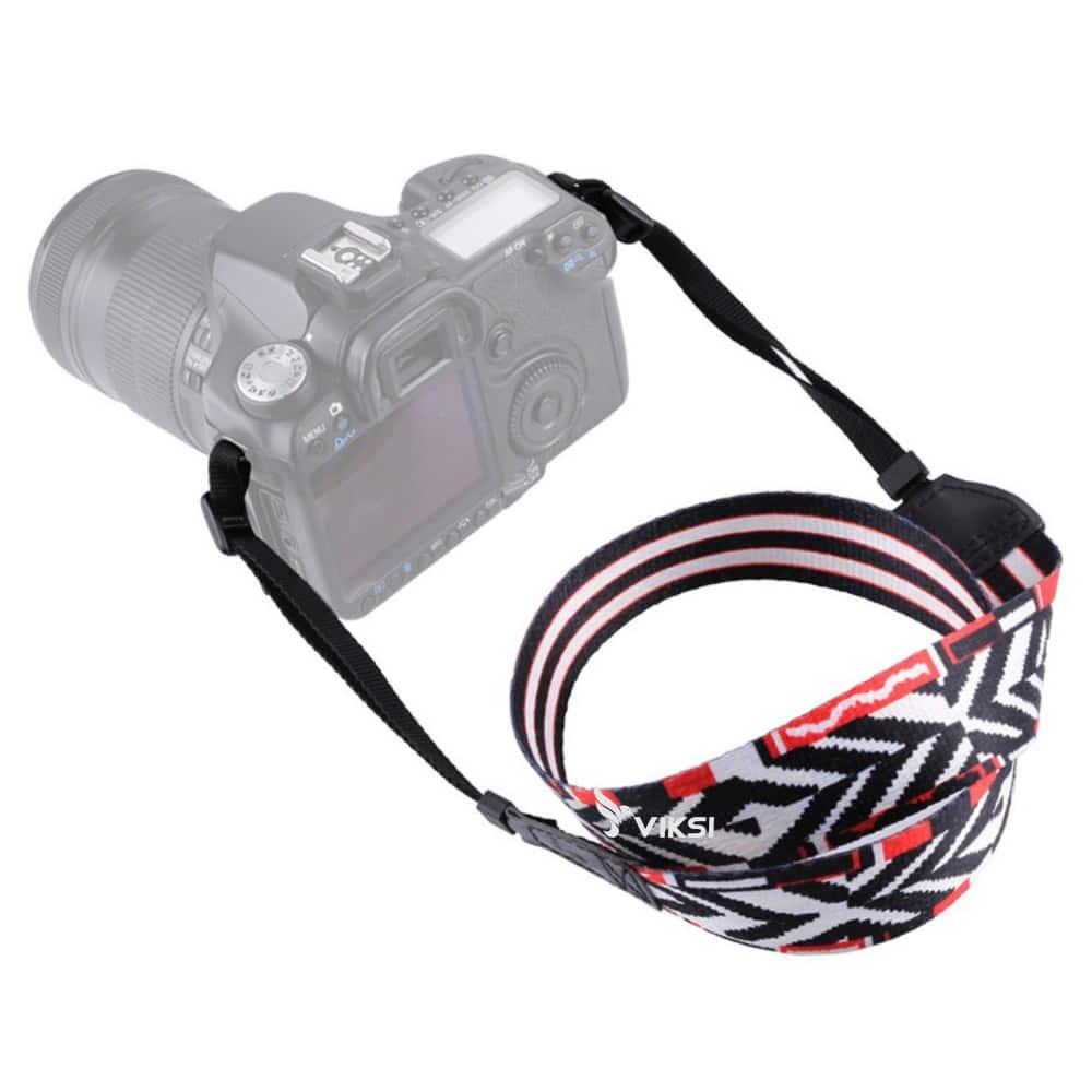 Цветной фото ремень для камеры (винтажный) Тип8