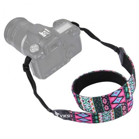Цветной фото ремень для камеры (этнический стиль) Тип1