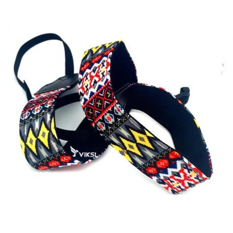 Цветной фото ремень для камеры (этнический стиль) Тип2
