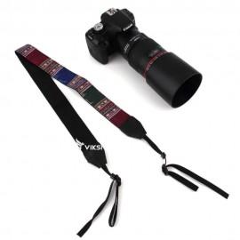 Цветной фото ремень для камеры (этнический стиль) Тип3