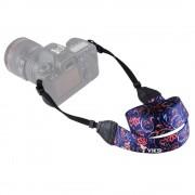 Цветной фото ремень для камеры (цветочный принт) Тип5