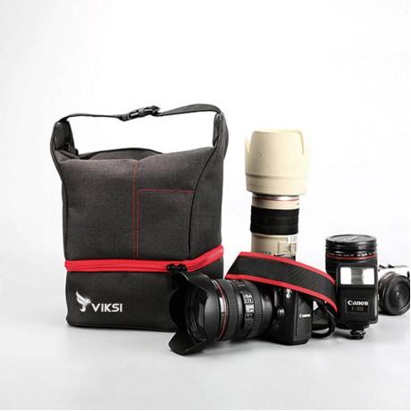 Стильная сумка Beige для фотоаппарата