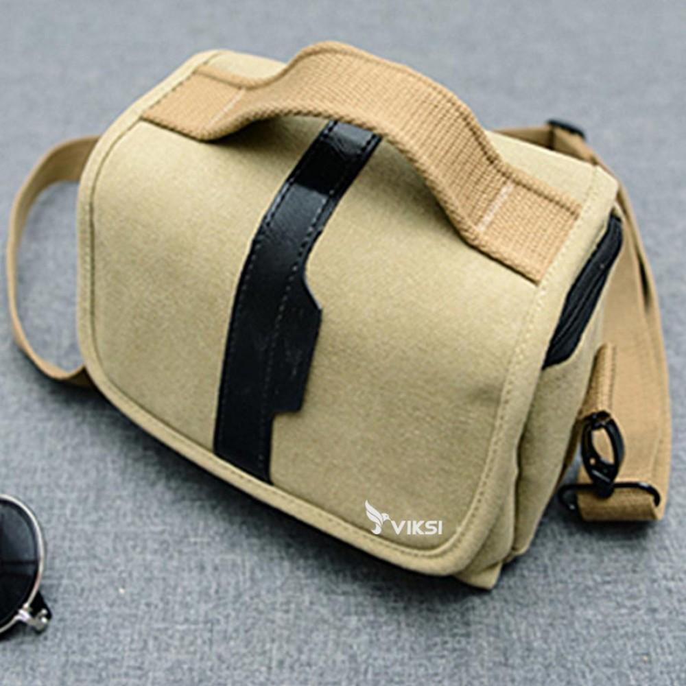 Водонепроницаемая фото сумка Vintage для фотоаппаратов DSLR