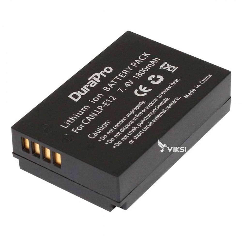 Аккумулятор LP-E12 для Canon EOS 100D, SL1, Kiss X7