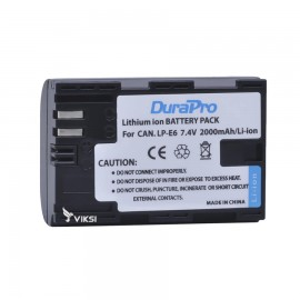 Аккумулятор LP-E6 для Canon EOS 6D, 7D, 60D, 70D, 5D Mark II (2000 мА*ч)