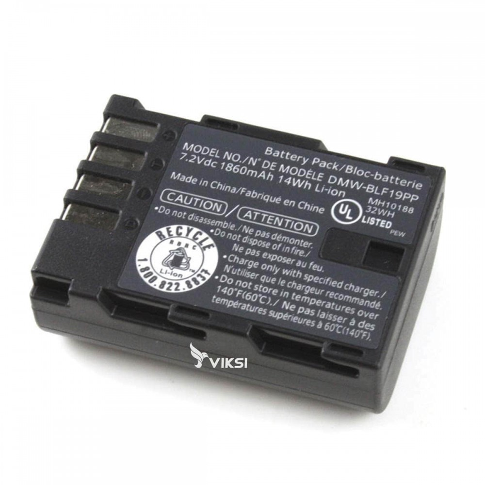 Аккумулятор DMW-BLF19 для Panasonic DMC-GH3, DMC-GH4 (1860 мА*ч )
