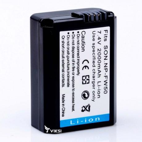 Аккумулятор NP-FW50 для Sony A7R, A3000, NEX-5 (2000 мА*ч) Digital
