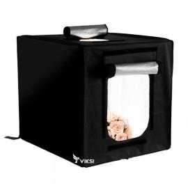 Лайтбокс Viltrox 65 см с LED подсветкой,  лайткуб для предметной съемки