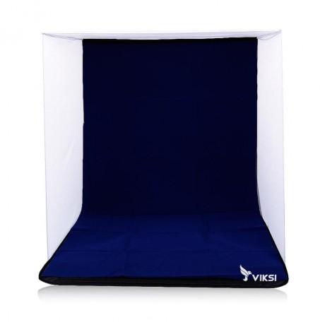 Лайтбокс, лайткуб 40х40 сборный из ткани (4 цвета фона)