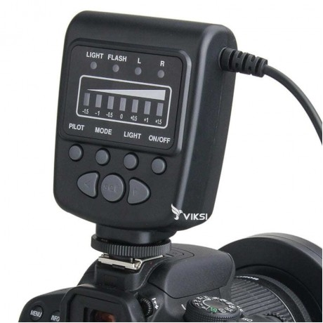 Кольцевая вспышка MeiKe fc-100 для Nikon, Canon (макро свет)