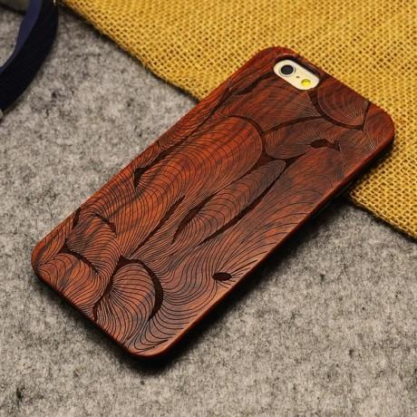 Чехол деревянный Finger для iPhone 6 plus
