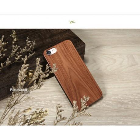 Чехол деревянный Rose для iPhone 7/8