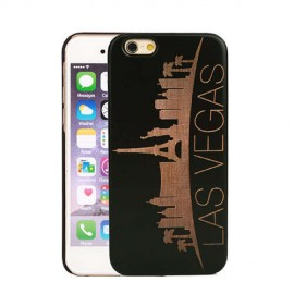 Чехол деревянный Las Vegas для iPhone 7/8