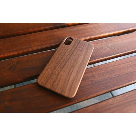 Чехол деревянный  Walnut для iPhone Х