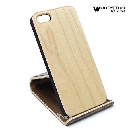 Чехол деревянный Maple для iPhone 5