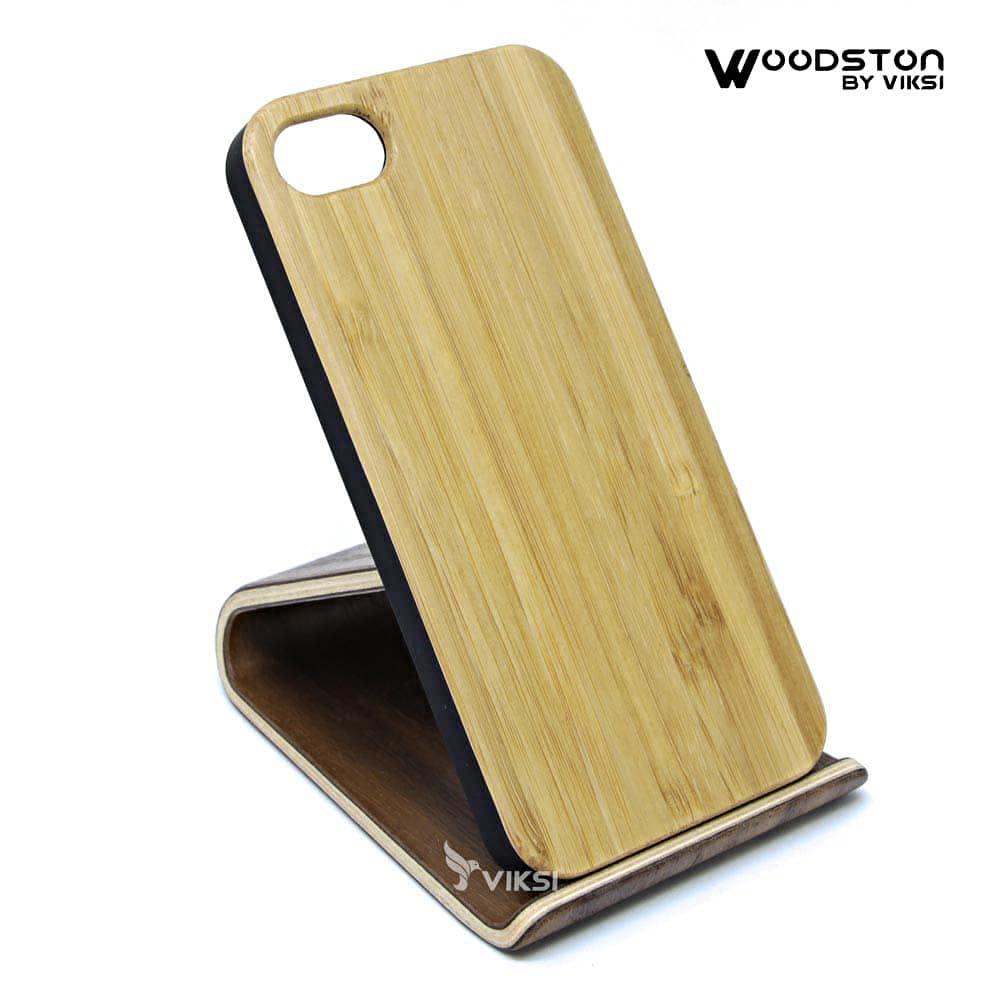 Чехол деревянный Bamboo для iPhone 5  (Wide)