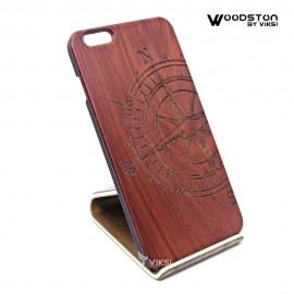 Чехол деревянный Kompass для iPhone 6 Plus
