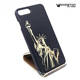 Чехол деревянный Liberty  для iPhone 7 Plus/8 Plus