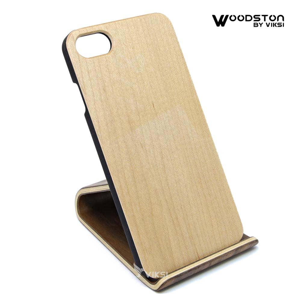 Чехол деревянный Maple для iPhone 7/8