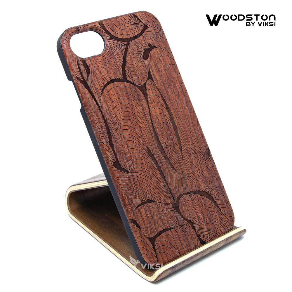 Чехол деревянный Finger для iPhone 7/8
