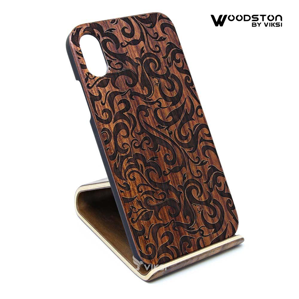 Чехол деревянный Abstract для iPhone Х