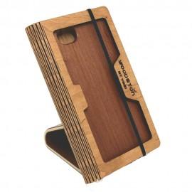 Деревяная подставка-трансформер для смартфона