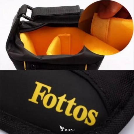Сумка Fottos для фотоаппаратов DSLR (универсальнаяCanon, Nikon, Sony)